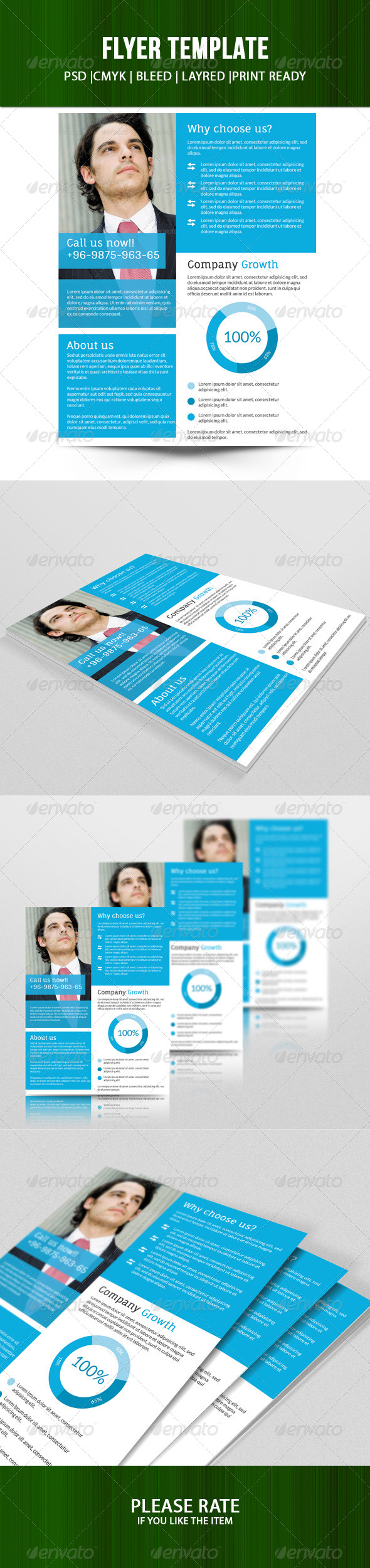 Fresh Multipurpose Business Flyer - Corporate Flyers