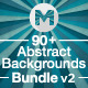 90+ Abstract Backgrounds Bundle v2 - GraphicRiver Item for Sale