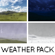 Sunny Day, Night Time, Rain, Snow - Weather Pack - VideoHive Item for Sale