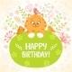Kitten Birthday - GraphicRiver Item for Sale