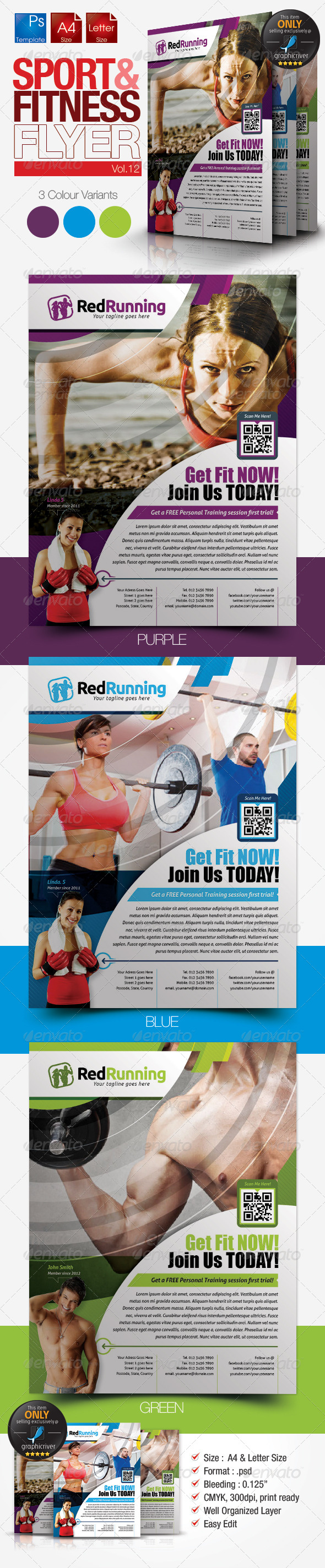 Fitness Flyer Vol.12 - Sports Events