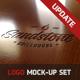 Photorealistic Logo Mockup Set - GraphicRiver Item for Sale