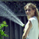 Girl Watering - VideoHive Item for Sale