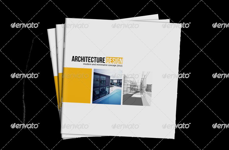Square Architecture Brochure Template By Rianda Graphicriver