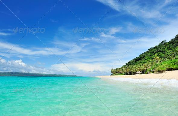 Beautiful beach - Stock Photo - Images