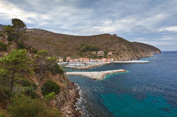 Capraia Island, Italy - Stock Photo - Images