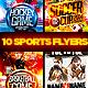 Sports Flyer Template Bundle  - GraphicRiver Item for Sale
