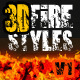 3D Fire Styles v.1 - GraphicRiver Item for Sale