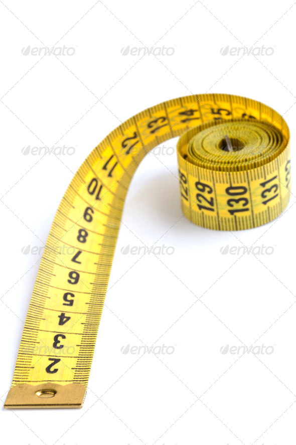 Yellow Tape Close-up - Stock Photo - Images