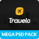 Travelo - Mega PSD Pack Nulled
