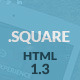 DotSquare HTML Landing Page - ThemeForest Item for Sale