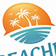 Sun Beach Logo - GraphicRiver Item for Sale