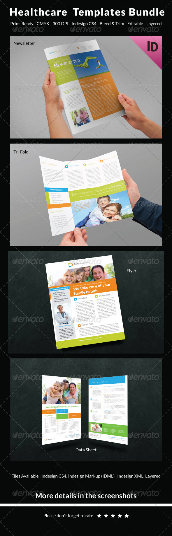 Healthcare Templates Bundle - Print Templates