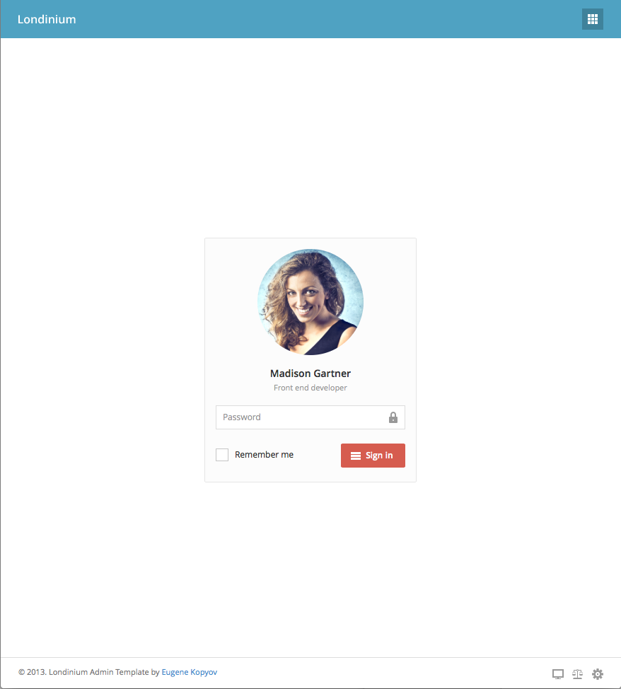 Wonderful Bootstrap Template Login Contemporary - Entry Level ...
