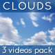 Sunny Clouds - 3 Videos Pack - VideoHive Item for Sale