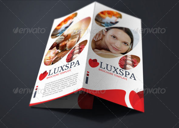 Medical Spa Brochure Template By BloganKids GraphicRiver - Spa brochure template