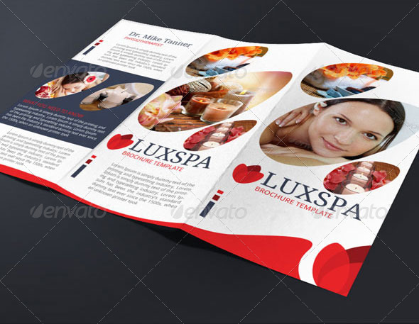 Medical Spa Brochure Template By Blogankids  Graphicriver