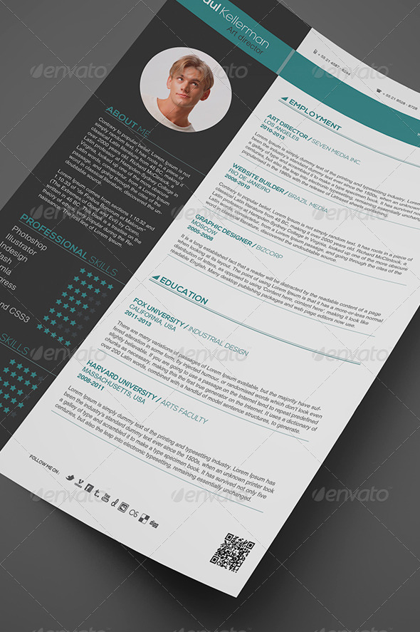Simple and Professional  - Resumes Stationery