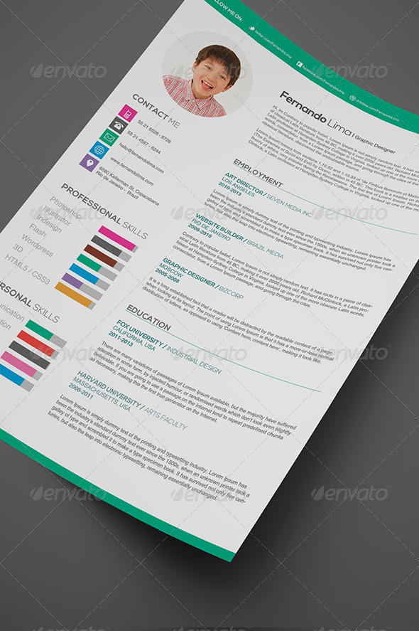 Creative Professional  - Resumes Stationery