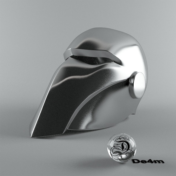 Smooth Helmet - 3DOcean Item for Sale