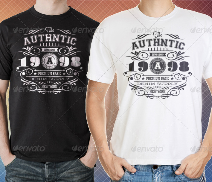 authentic vintage t shirt templates by ideaofart