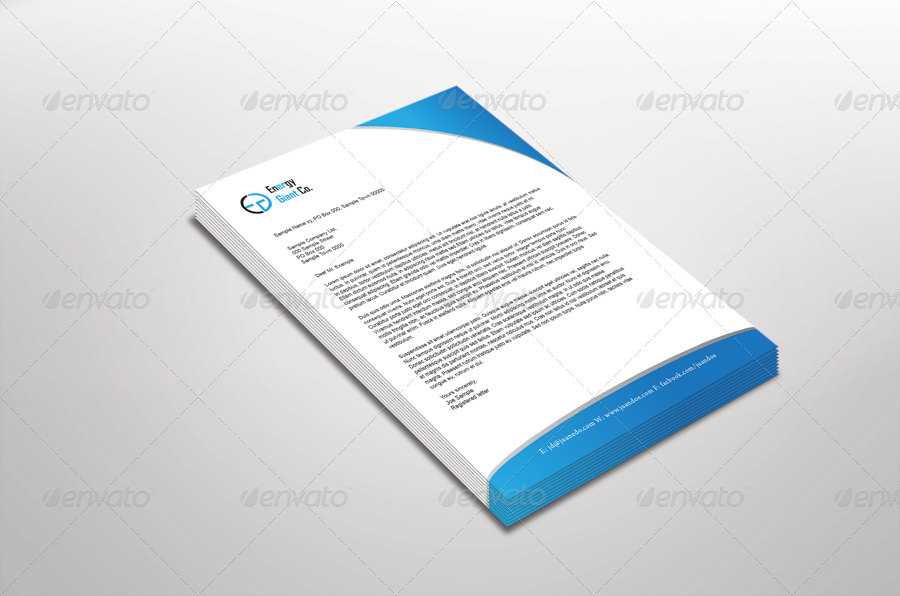 Corporate Letterhead by TFDesignStudio – Corporate Letterhead