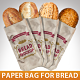 Paper Bag For Bread Mockup - GraphicRiver Item for Sale