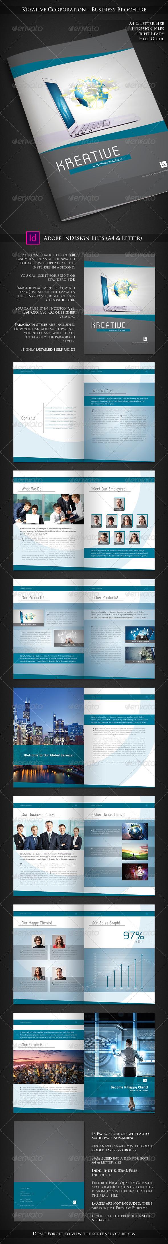 Kreative Corporation - Company Profile Brochure - Corporate Brochures