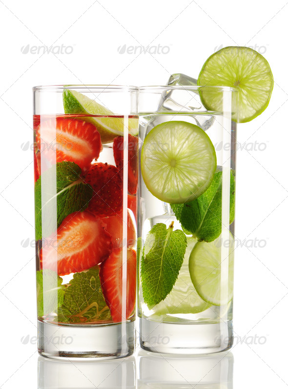 Mojito cocktails - Stock Photo - Images