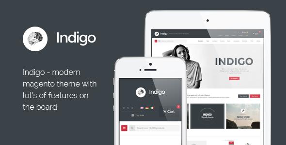 Indigo – Responsive Magento Theme