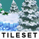 Platform Game Tileset 8: Snowy Mountains - GraphicRiver Item for Sale