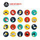 This is the Hands with Object Icons Set - GraphicRiver Item for Sale