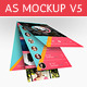 App Screenshot Mockups V5 - GraphicRiver Item for Sale
