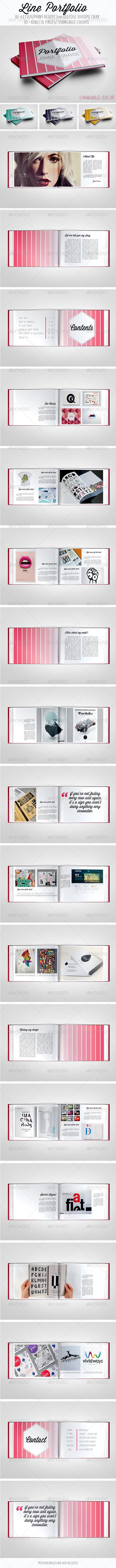 Line Portfolio - Portfolio Brochures