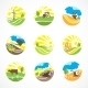 Agriculture Icons Set - GraphicRiver Item for Sale