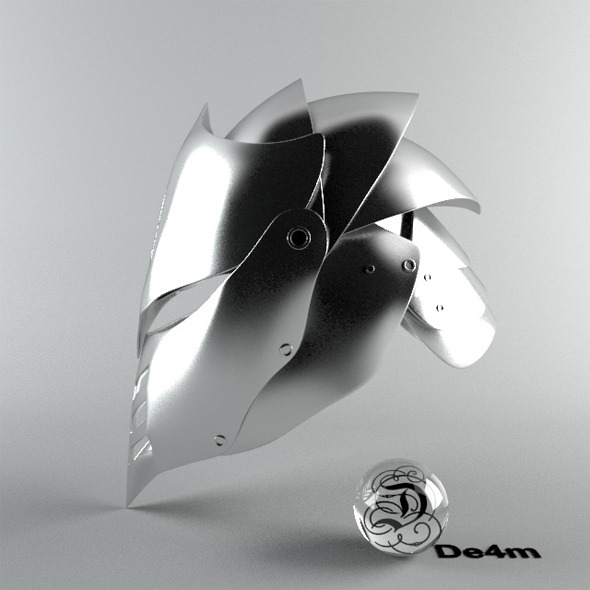 Black Dragon Helmet - 3DOcean Item for Sale