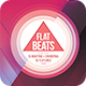 Flat Beats Flyer - GraphicRiver Item for Sale