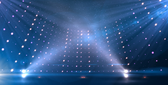 Blue Revolving Stage By Rgba Design Videohive