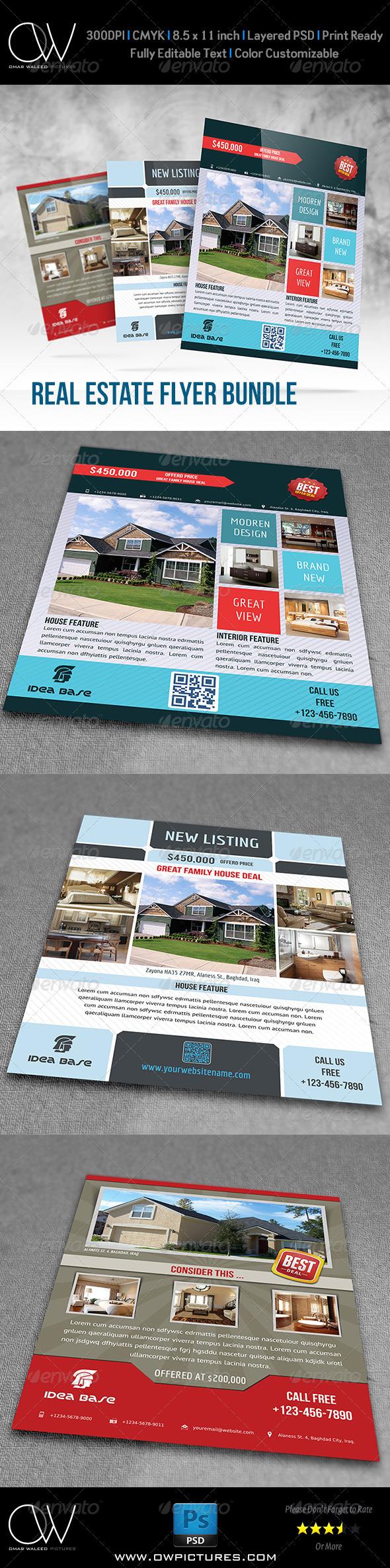 Real Estate Flyer Bundle Template Vol.1