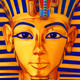 Casino slot icon of Egypt pharaoh Tutankhamun - GraphicRiver Item for Sale