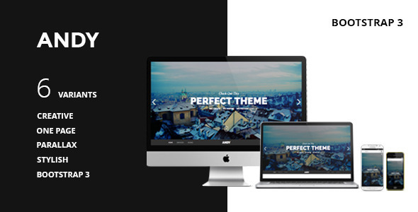 ANDY – One Page Responsive Parallax HTML5