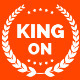 King On - One Page Creative Agency Theme - ThemeForest Item for Sale