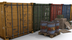 Game ready cargo assets