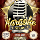 Karaoke / Comedy Night Stars Flyer - GraphicRiver Item for Sale