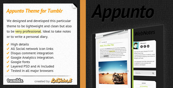 Free Download Appunto Nulled Latest Version