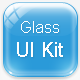 Glass UI Kit - GraphicRiver Item for Sale