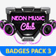 Metal Badges Template Pack Vol 3 - GraphicRiver Item for Sale