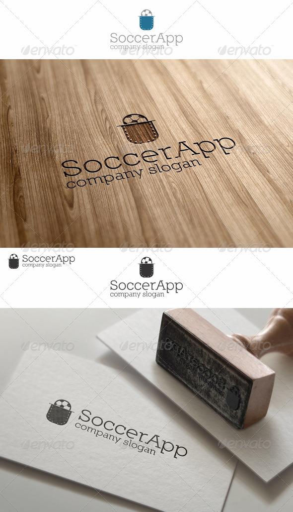 Pocket Soccer App Logo - Objects Logo Templates