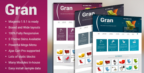 Gran – Premium Responsive Magento Theme