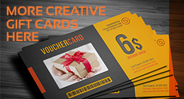 Gift Voucher Card Collection
